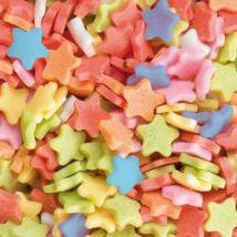 Confetti csillag cukor tortadekoráció (200 g)