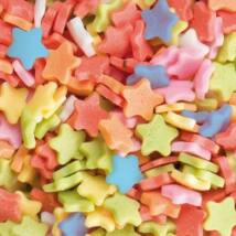 Confetti csillag cukor tortadekoráció (1 kg)