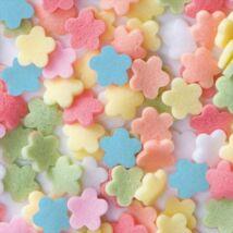 Confetti virágok cukor tortadekoráció (1 kg)