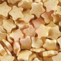 Karácsonyi arany csillag cukor konfetti (500g/doboz)
