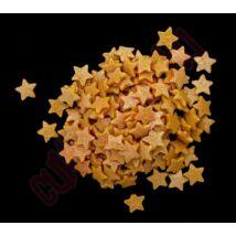 Karácsonyi arany cukor csillag (200g/doboz)