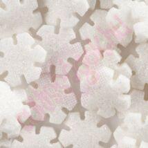 Karácsonyi hópehely cukor konfetti (100g/doboz)