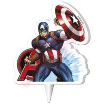 Mesegyertya - Avengers Cap.America 2D