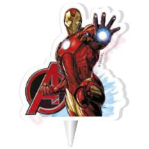 Mesegyertya - Avengers IronMan 2D