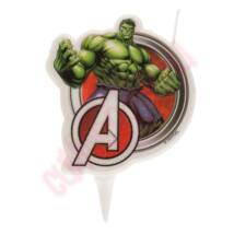 Mesegyertya - Hulk 2D