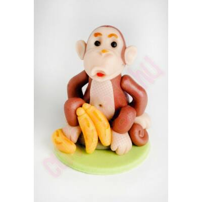 kövön ülő majom