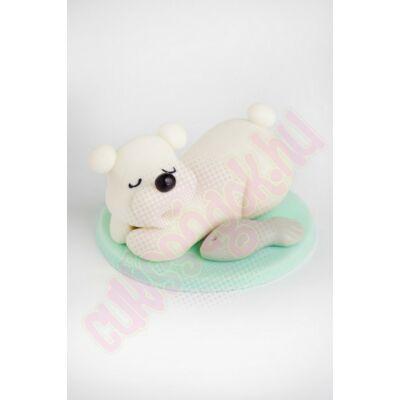 alvó jegesmedve