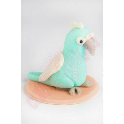 papagáj marcipán figura