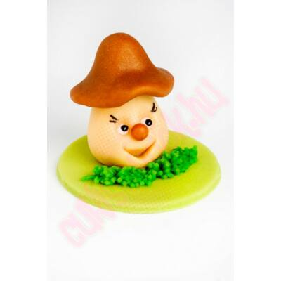 barna kalapos gomba