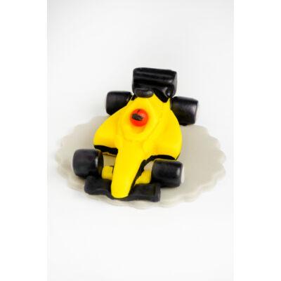 F1 versenyautó sárga