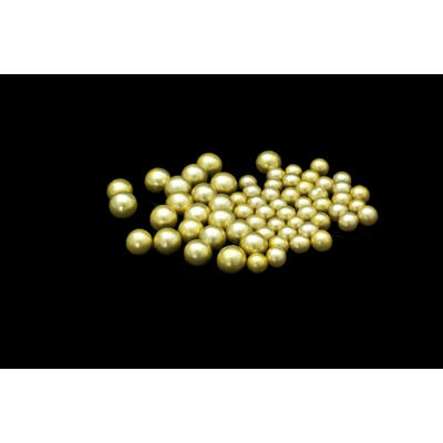 dekor cukorgyöngy arany