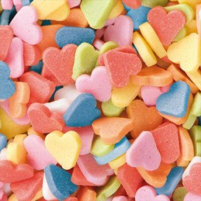 konfetti szív