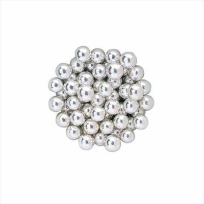 dekor cukorgyöngy ezüst