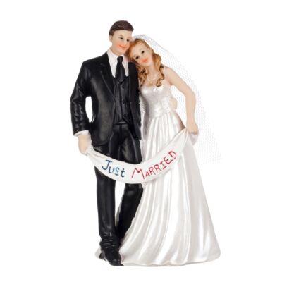 just married nászpár