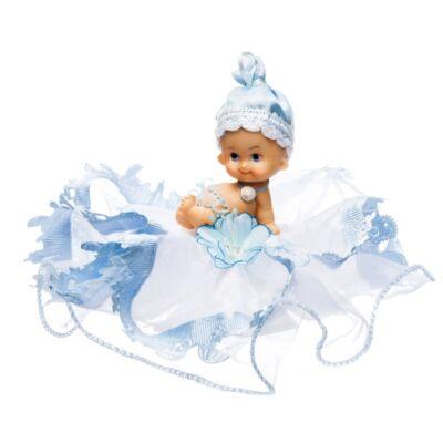 baba kék tüllel