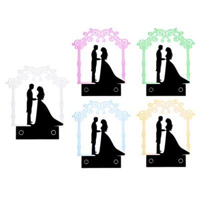 LED esküvői tortadísz