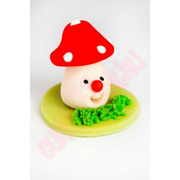 piros kalapos gomba