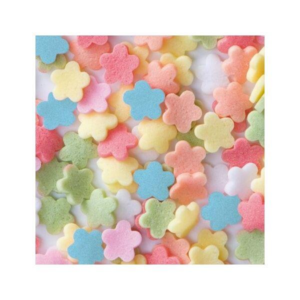 konfetti virágok